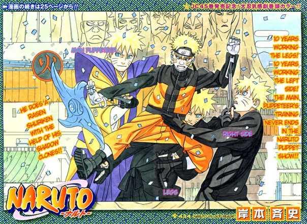Naruto Chapter 434