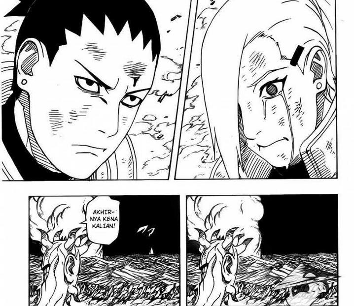Tim Shikaku gugur dengan terhormat dimedan pertempuran. Dan mewasiatkan strategi terakhit untuk mengalahkan Juubi. Apakah akan berhasil ?