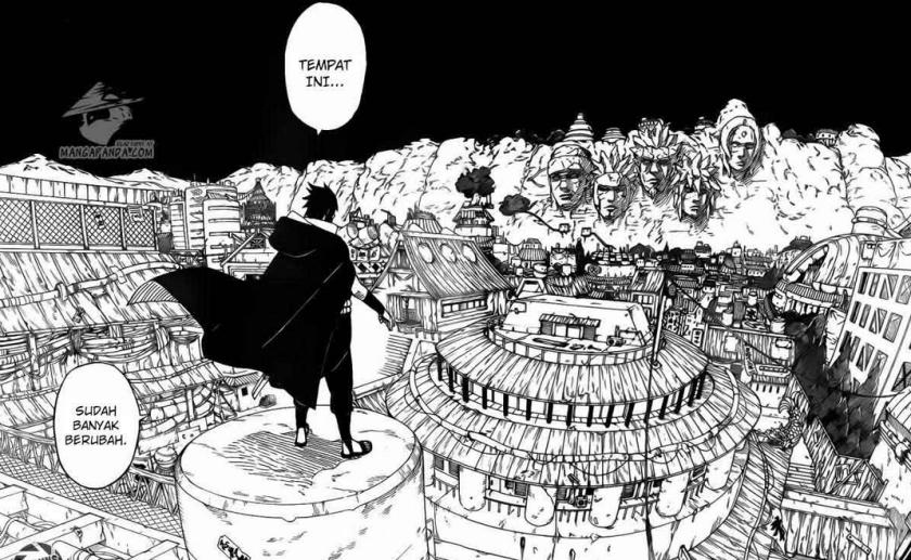 Sasuke dan kenangan masa lalunya.