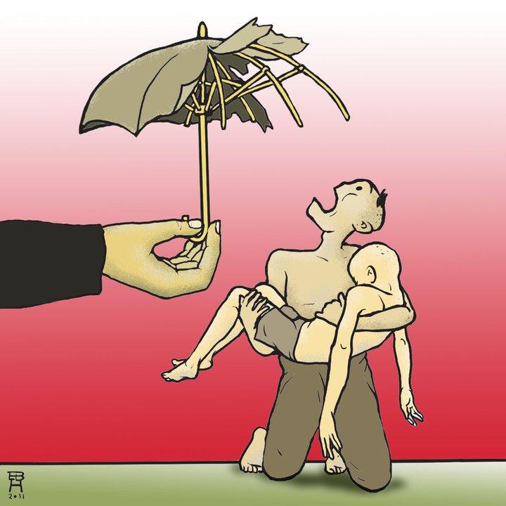 Jaminan sosial di Indonseia masih memprihatinkan. SJSN yang disahkan tahun 2004, masih tidak menentuk selama 7 tahun. Tahun 2011 UU BPJS disahkan, dan mulai dijalankan 1 januari 2014 !