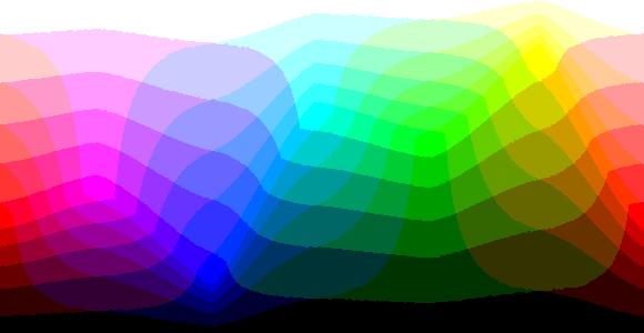 Warna dengan 8 bit per pixel