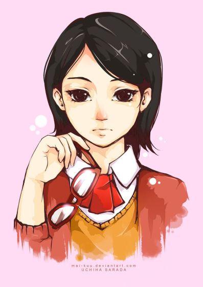 Sarada Uchiha, anak Sasuke dan Sakura..