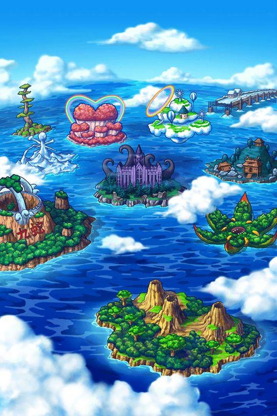 Bagaimana Bentuk dan Detail Peta/Planet di Manga One Piece? Begini DetailLengkapnya
