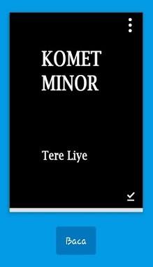 Komet Minor by Tere Liye – ReviewBuku